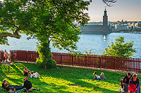 Ivar Los park Mariaberget Södermalm Stockholm