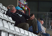 07/05/2016 Sky Bet League Two Morecambe v York City<br /> A York City fan finds the game hard going