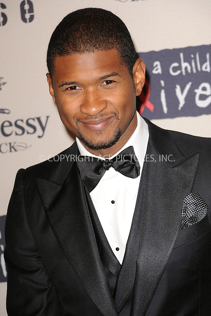 WWW.ACEPIXS.COM . . . . . ....October 15 2009, New York City....Singer Usher arriving at the  'Keep A Child Alive's 6th Annual Black Ball'  hosted by Alicia Keys and Padma Lakshmi at Hammerstein Ballroom on October 15, 2009 in New York City.....Please byline: KRISTIN CALLAHAN - ACEPIXS.COM.. . . . . . ..Ace Pictures, Inc:  ..tel: (212) 243 8787 or (646) 769 0430..e-mail: info@acepixs.com..web: http://www.acepixs.com