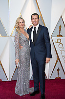 Molly Sims and Scott Stuber arrive on the red carpet of The 90th Oscars&reg; at the Dolby&reg; Theatre in Hollywood, CA on Sunday, March 4, 2018.<br /> *Editorial Use Only*<br /> CAP/PLF/AMPAS<br /> Supplied by Capital Pictures