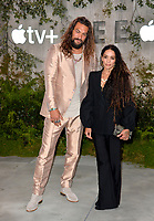 "LOS ANGELES, USA. October 22, 2019: Jason Momoa & Lisa Bonet at the premiere of AppleTV+'s ""SEE"" at the Regency Village Theatre.<br /> Picture: Paul Smith/Featureflash"