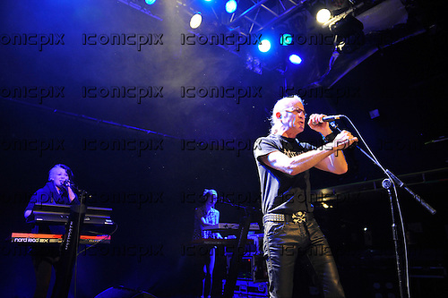 MEN WITHOUT HATS - vocalist Ivan Doroschuk - performing live at the Academy Islington in London Uk - 01 Feb 2013.  Photo credit: Zaine Lewis/IconicPix