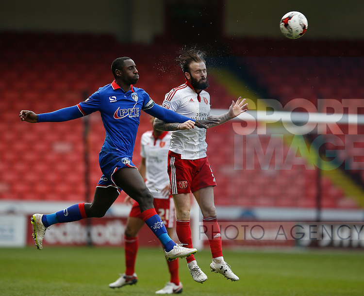 John Brayford of Sheffield Utd clears the danger during the Sky Bet League One match at The Bramall Lane Stadium.  Photo credit should read: Simon Bellis/Sportimage