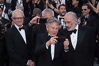 Ken Loach, Claude Lelouch, Roman Polanski &amp; Jerry Schatzberg at the 70th Anniversary Gala for the Festival de Cannes, Cannes, France. 23 May 2017<br /> Picture: Paul Smith/Featureflash/SilverHub 0208 004 5359 sales@silverhubmedia.com