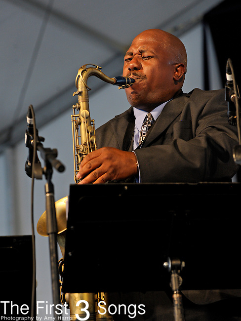 Little Anthony & The Imperials perform during the New Orleans Jazz & Heritage Festival in New Orleans, LA on May 4, 2012.