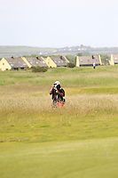 Thos Caffrey (Golffile photographer) in the rough on the 6th during Round 1 of the Irish Amateur Close Championship at Seapoint Golf Club on Saturday 7th June 2014.<br />
