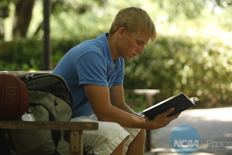29 JULY 2010:  Students at St. Edwards University for NCAA Champion Magazine.  Jamie Schwaberow/NCAA Photos