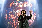 © Joel Goodman - 07973 332324 . 07/06/2015 . Manchester , UK . RUDIMENTAL on stage at the Parklife 2015 music festival in Heaton Park , Manchester . Photo credit : Joel Goodman