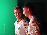 Pictured L-R: Adam King and Jay Fulton 01 April 2015<br />