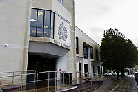 Pictured: A general view of Swansea Crown Court, Swansea, Wales, UK. Friday 18 October 2019<br /> Re: A man who fathered at least six children with one of his daughters has been jailed for rape by Swansea Crown Court, Wales, UK.<br /> The defendant, from south west Wales, who cannot be named, was also found guilty of repeatedly raping one of the girls she gave birth to, and another of his daughters.<br /> He had denied a total of 36 counts of rape, and one count of assault by penetration.