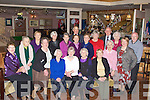 SENIOR: Castleisland senior went to O'Riada's bar & Restaurant, Ballymacelligott, Tralee on Thursday to mark the christmas season, Front l-r: Bernie Conway, Phil Jameson, Margaret Prendiville, Mai O'Donoghue, Pauline Cremins, Betty McAuliffe, Phil NOlan, Eileen Keane, Paggy Reidy and Bertie Conway. Back l-r: Margaret O'Mahony, Beth Carthy, Breda O'Mahony, Mary Martin, Timmy O'Mahony, Noreen Naughton, Una Murphy, Paddy and Mary Ellen Brosnan.. ............................... ..........
