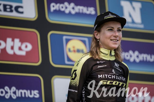 Podium<br /> 16th Ronde van Vlaanderen 2019<br /> women's elite race <br /> <br /> 2nd place finisher Annemiek Van Vleuten (NED/Mitchelton Scott)<br /> <br /> ©kramon