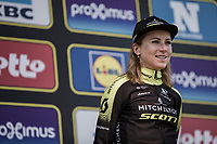 Podium<br /> 16th Ronde van Vlaanderen 2019<br /> women's elite race <br /> <br /> 2nd place finisher Annemiek Van Vleuten (NED/Mitchelton Scott)<br /> <br /> ©kramon