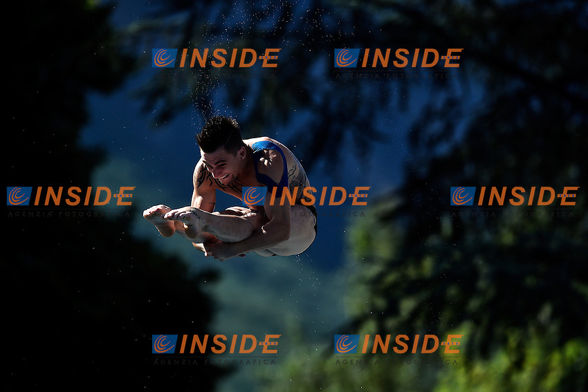 ROSSET Mathieu FRA <br /> Men's 3m Springboard Preliminary - Trampolino 3m Uomini <br /> Bolzano 01-08-2014 <br /> 20 Fina Diving Grand Prix <br /> Photo Andrea Staccioli/Insidefoto