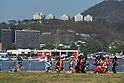 General view <br /> AUGUST 14, 2016  - Marathon : <br /> Women's Marathon <br /> at Sambodromo <br /> during the Rio 2016 Olympic Games in Rio de Janeiro, Brazil. <br /> (Photo by YUTAKA/AFLO SPORT)