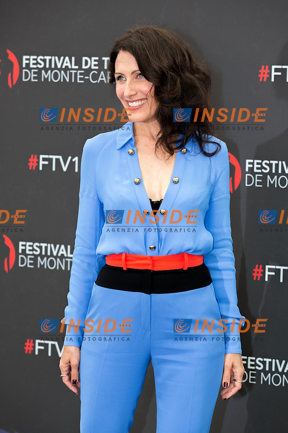 Lisa EDELSTEIN, Girlfriend&rsquo;s Guide To Divorce <br /> Monaco Montecarlo 14-06-2016 <br /> 56th Monaco TV Festival - Photocall Opening Ceremony <br /> Foto Nicolas Gavet Panoramic / Insidefoto