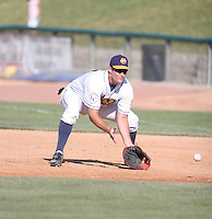 Mike Thompson of the Burlington Bees during the Midwest League All-Star game.  Photo by:  Mike Janes/Four Seam Images