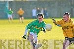 Finuge's Paul Galvin and Listowel's Jack Buckley.