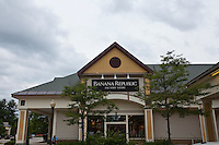 A Banana Republic store is pictured at the Settlers' Green Outlet Village in North Conway, New Hampshire Thursday June 13, 2013.