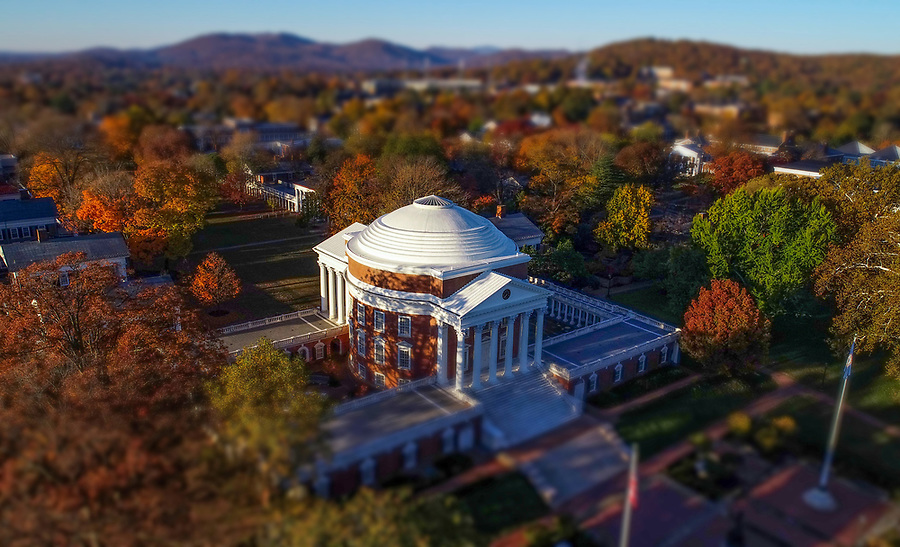 The Rotunda at the University of Virginia, a World heritage Site located in Charlottesville, Va. Photo/Andrew Shurtleff Photography, LLC