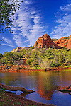 Pond near Loy Canyon, near Sedona, Arizona