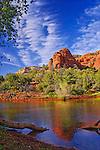 Pond near Loy Canyon, near Sedona, Arizona