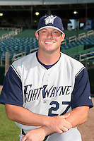 Fort Wayne Wizards Drew Davidson poses for a photo before a Midwest League game at Oldsmobile Park on July 13, 2006 in Fort Wayne, Indiana.  (Mike Janes/Four Seam Images)