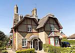 Village housing, Somerleyton, Suffolk, England, UK