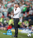19.05.2018 Scottish Cup Final Celtic v Motherwell: Stephen Robinson