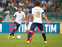 Daniele Rugani  during the  friendly  soccer match,between Italy  and  France   at  the San  Nicola   stadium in Bari Italy , September 01, 2016<br /> <br /> amichevole di calcio tra le nazionali di Italia e Francia