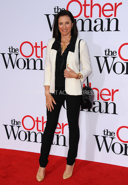 WWW.ACEPIXS.COM<br /> <br /> April 21 2014, LA<br /> <br /> Mimi Rogers arriving at the 'The Other Woman' - Los Angeles Premiere at the Regency Village Theatre on April 21, 2014 in Westwood, California.<br /> <br /> <br /> By Line: Peter West/ACE Pictures<br /> <br /> <br /> ACE Pictures, Inc.<br /> tel: 646 769 0430<br /> Email: info@acepixs.com<br /> www.acepixs.com