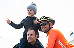 Olympic Champion Greg Van Avermaet (BEL) CCC Team at sign on before the start of Stage 3 of the 2019 Tour de Yorkshire, running 132km from Brindlington to Scarborough, Yorkshire, England. 4th May 2019.<br /> Picture: ASO/SWPix/Alex Broadway | Cyclefile<br /> <br /> All photos usage must carry mandatory copyright credit (&copy; Cyclefile | ASO/SWPix/Alex Broadway)