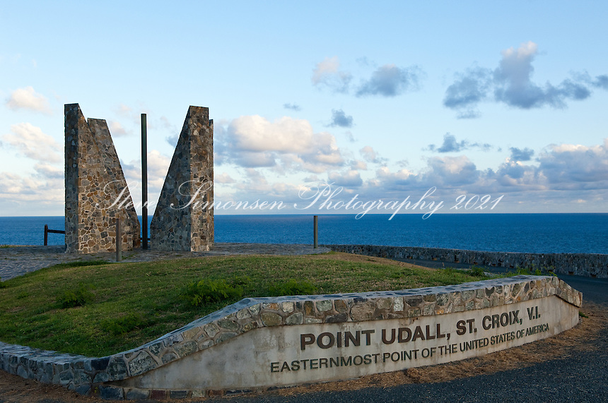 Point UdallPoint Udall eastern most point of the United States, St. Croix, VI