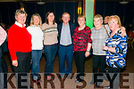 Kathleen Burrows, Phil O'Mahony, Mary Ellen Hurley, Johnny Burrows, Mary O'Rahilly, Elaine O'Halloran and Ellen O'Connor all from Tralee at the DJ Curtin and Mark Leen concert in the INEC Killarney last Sunday night.