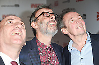 "Armando Iannucci, David Schneider and Paul Whitehouse<br /> arriving for the premiere of ""The Death of Stalin"" at the Curzon Chelsea, London<br /> <br /> <br /> ©Ash Knotek  D3338  17/10/2017"