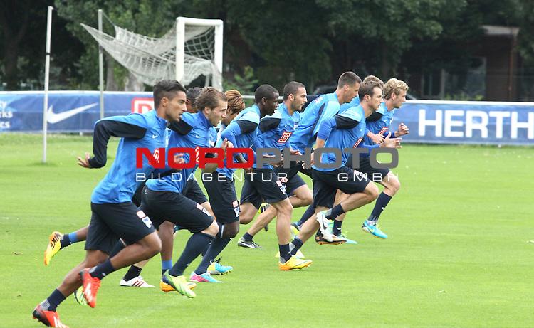 27.08.2013, Sportpark, Berlin, GER, 1.FBL, Hertha BSC , Training, im Bild <br /> <br />               <br /> Foto &copy; nph /  Schulz