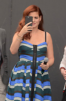 "Debra Messing<br /> at the ""Will & Grace"" Start of Production Kick Off Event, Universal Studios, Universal City, CA 08-02-17<br /> David Edwards/DailyCeleb.com 818-249-4998"