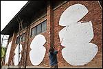 PHLEGM al lavoro negli spazi di BUNKER, Il nuovo progetto di Urbe nell'ex stabilimento SICMA Torino. Settembre 2012