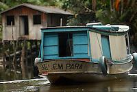 Município de Curralinho no Marajó.<br /> Foto Paulo Santos<br /> Curralinho , Pará , Brasil.