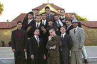 The Men's Gymnastics Team, 2001.
