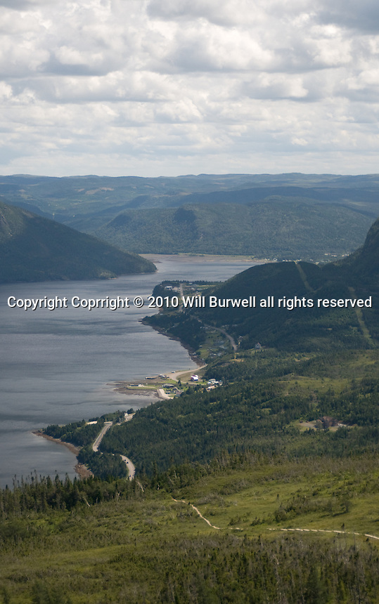 South Arm from Lookout trail Gros Moren National Park Newfoundland and Labrador