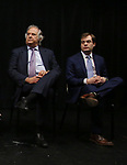 Stewart F. Lane and Hal Berman attends the Theater Resources Unlimited (TRU): Stream It and They Will Come: How Digital Capture Builds Audience Awareness at The Playroom Theatre on April 26, 2018 in New york City.