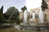 Le fontane di Villa d'Este a Tivoli.<br /> Fountains at Villa d'Este, Tivoli.<br /> UPDATE IMAGES PRESS/Riccardo De Luca