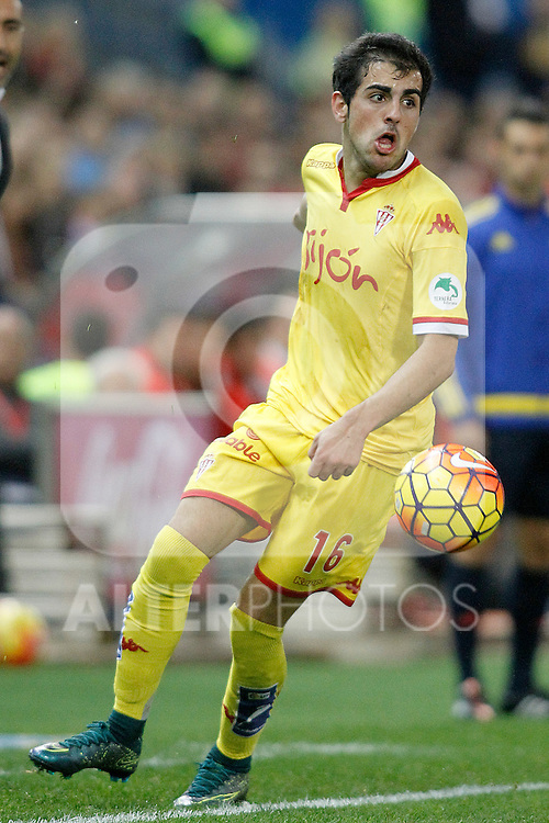 Sporting de Gijon's Carlos Castro during La Liga match. November 8,2015. (ALTERPHOTOS/Acero)
