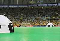 RIO DE JANEIRO, 30.06.2013 - COPA DAS CONFEDERAÇÕES - FINAL - BRASIL X ESPANHA - Cerimonia de encerramento antes da partida entre Brasil x Espanha na final da Copa das Confederações Estádio do Maracanã, na zona norte do Rio de Janeiro, neste domingo, 30..(Foto: William Volcov / Brazil Photo Press).