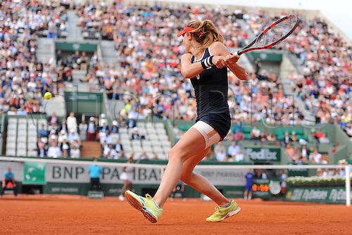28.05.2016. Stade Roland Garros, Paris, France. Roland Garros French Open Tennis Day seven.  Alize Cornet (FRA) versus Venus Williams (USA). Williams won in 3 sets