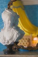 Europe/France/Provence-Alpes-Côte d'Azur/06/Alpes-Maritimes/Nice:  Hôtel: Le Négresco détail décoration d'une chambre