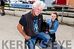 Liam Dowd from Tralee, Aislinn Lawlor and Bond the dog at the Dog Show at the Kingdom County Fair on Sunday