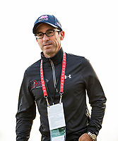 LOUISVILLE, KY - MAY 03: Jeff Bloom watched the morning workouts in preparation for the Kentucky Derby and Oaks at Churchill Downs on May 3, 2018 in Louisville, Kentucky. (Photo by Alex Evers/Eclipse Sportswire/Getty Images)
