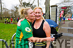 Niamh O'Sullivan, Tralee and Ethel Meehan, Lixnaw  at the Kerry's Eye Tralee, Tralee International Marathon and Half Marathon on Saturday.